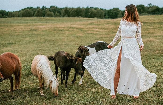 Najmodniejsze suknie ślubne, czyli trendy w modzie ślubnej na 2019 rok